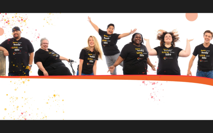 The Body Positive event banner
