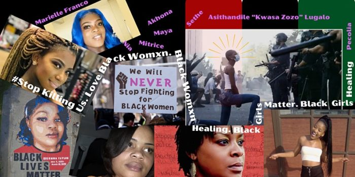 Event Banner: #SayHerName: An evening of community healing for Black Womxn and Girls