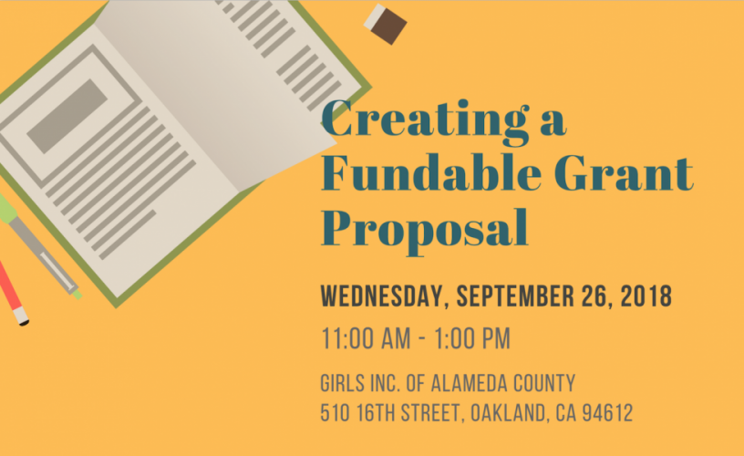 Grant Proposal   Creating A Fundable Grant Proposal Alliance For Girls