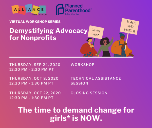 Demystifying Advocacy for Nonprofits Event Banner