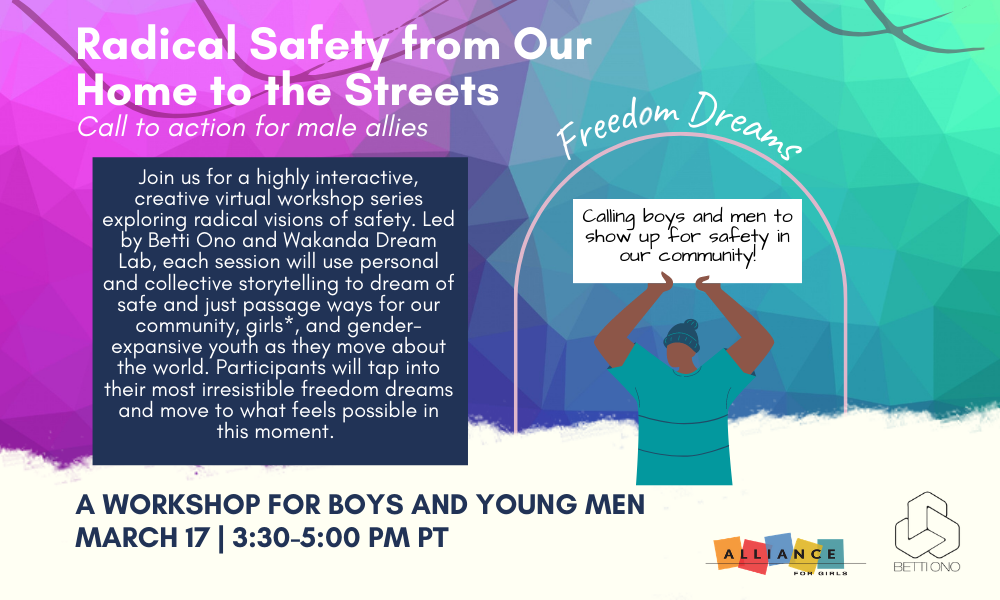 Event banner for Freedom Dreams: Radical Safety from Our Home to the Streets