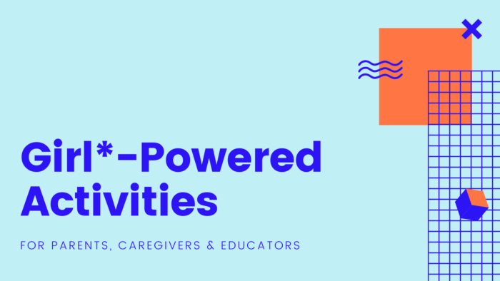 Girl-Powered Activities Banner