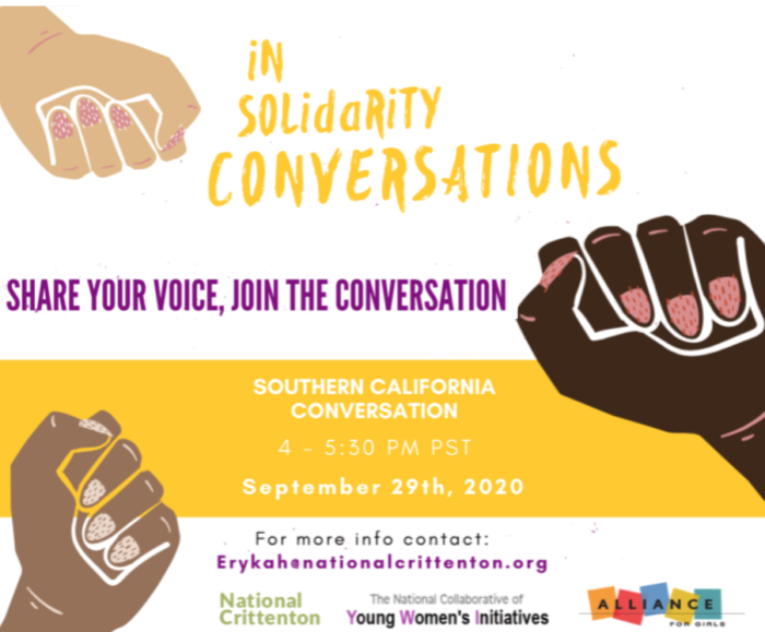 In Solidarity Conversations: California Event Banner