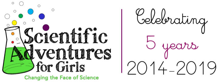 Scientific Adventures for Girls Celebrates 5 years