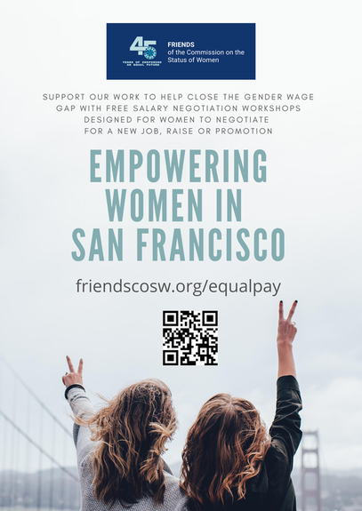 Empowering Women in San Francisco flyer